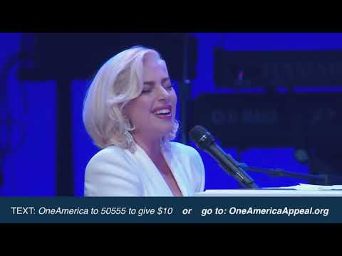 (New) Lady gaga - million reasons   yoü and i   the edge of glory live at one america appeal