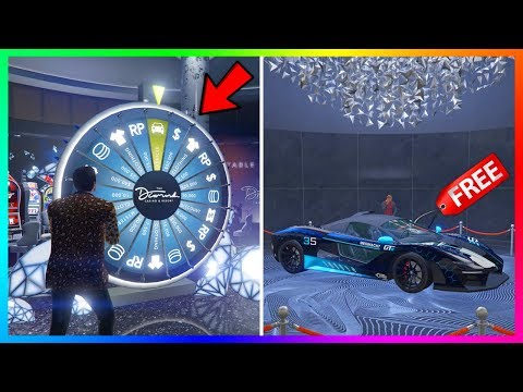 (New) How to win the lucky wheel podium car every single time in gta 5 online! (updated 2020)