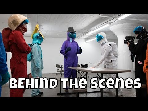 (New) Among us but its a reality show 2 - behind the scenes