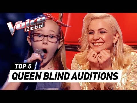 (New) Best queen blind auditions in the voice kids