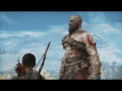 (New) God of war 4 (2018) - full movie (all cutscenes w  subtitles) + secret ending [1080p hd]