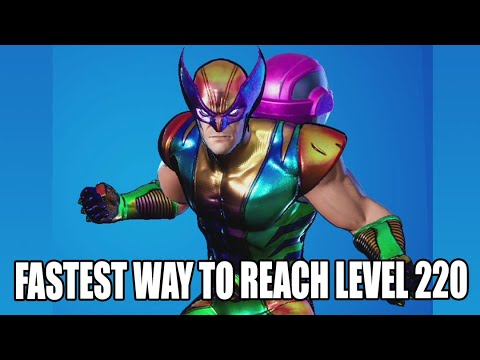 (New) Fastest way to reach level 220, farming xp in fortnite chapter 2 season 4