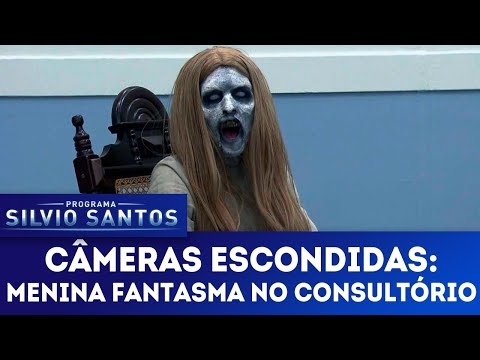 (New) Menina fantasma no consultório - ghost girl at the clinic | câmeras escondidas (13 05 18)