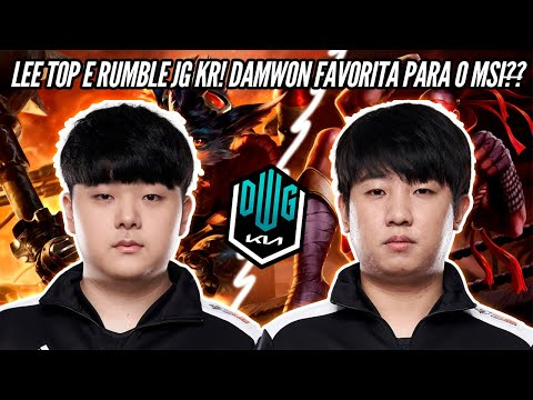 (New) Canyon e khan dominando com o novo meta, lee sin top e rumble jg! pain no msi! soloq europa!