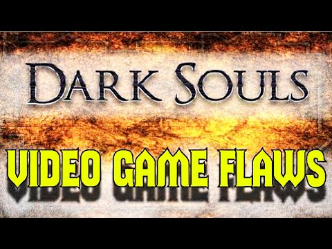 (New) Video game flaws: dark souls 1 e 2 (live action parody)