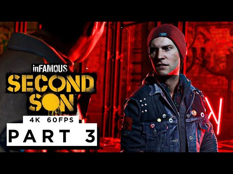 (New) Infamous second son ps5 walkthrough gameplay part 3 - (4k 60fps)