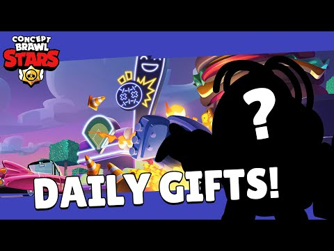(New) Brawl stars: brawl talk! - daily gifts! trade market?! exclusive skin? and more!! - concept edit!