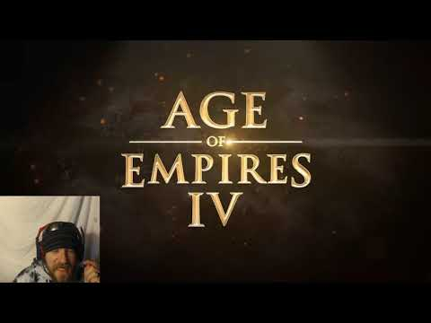 (New) Age of empires 4 - official gameplay trailer reaction - im so hyped for this