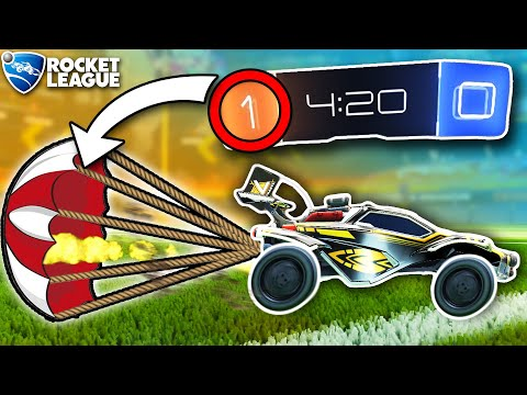 (HD) Rocket league, but youre dragged down when youre winning