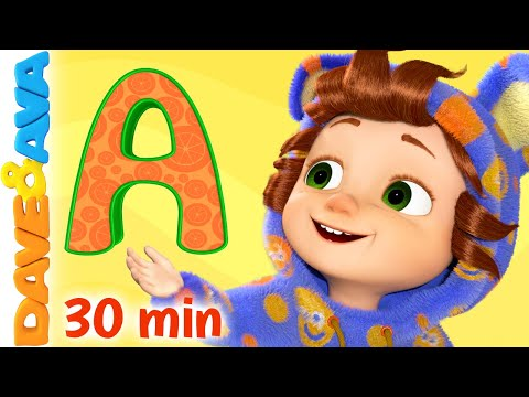 (VFHD Online) ❣️ abc song and more nursery rhymes and baby songs by dave and ava ❣️