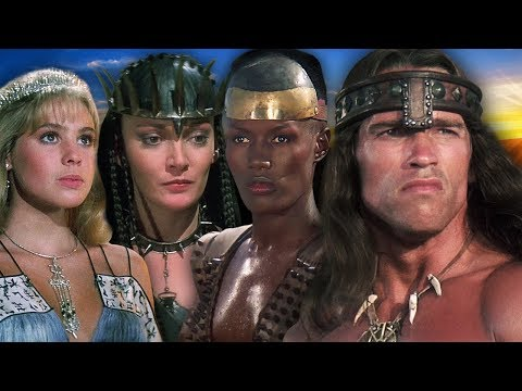 (Ver Filmes) Conan the destroyer ⭐ then and now