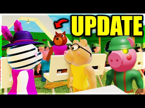 (HD) Piggys huge new update! (flying, no clip, friendly npcs) | roblox piggy