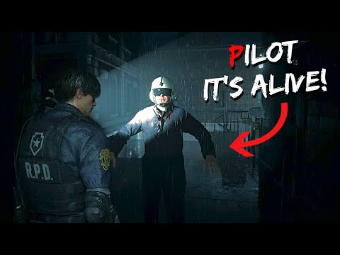 (New) What happens if the helicopter doesnt fall in the rpd? | resident evil 2 remake