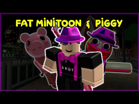 (HD) Playing fat minitoon and piggy build mode!