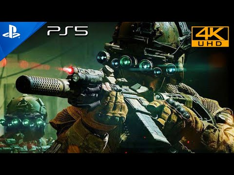 (New) Wolfs den [ps5 hdr 4k] next-gen ultra realistic graphics playstation 5 call of duty gameplay