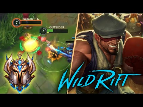 (VFHD Online) Lee sin jungle road to challenger | solo q - wild rift