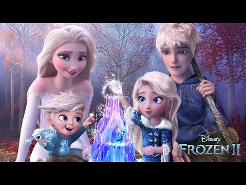 (New) Frozen 2: elsa and jack frost have a daughter and a son! and they both have magic! ❄💙alice edit!