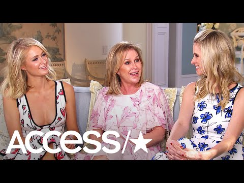 (New) Paris, kathy e nicky hilton dish on paris wedding (access exclusive)