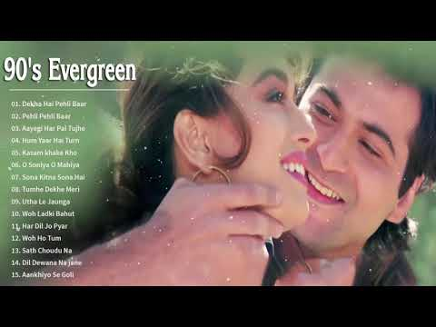 (New) Bollywood 90s love songs | hindi romantic melodies songs -- kumar sanu alka yagnik udit narayan