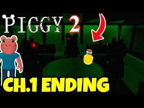 (New) Piggy 2 chapter one ending cutscene!! | roblox piggy season 2 (new predictions #2)