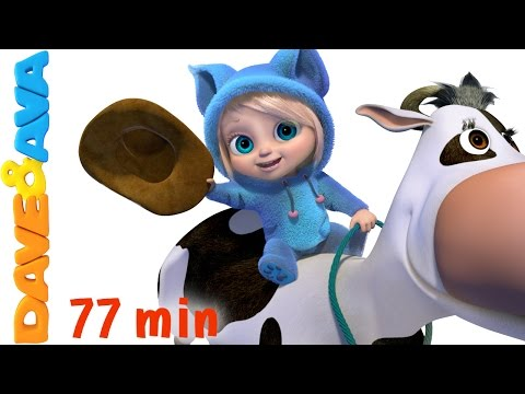 (New) 🎻 nursery rhymes collection and many more songs for kids, children and toddlers from dave and ava 🎻