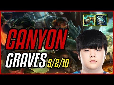 (New) Canyon - graves vs kayn jungle - euw master - patch 11.9