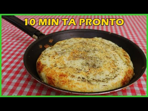 (New) Lanche de frigideira com 2 ingredientes | em 10 minutos ta pronto!!!