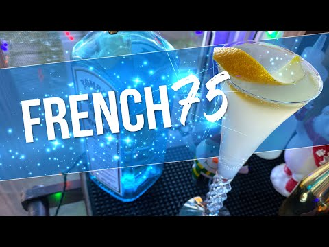 (New) How to make a french 75 | new years eve cocktails