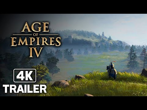 (New) Age of empires 4 norman campaign trailer 4k (2021)