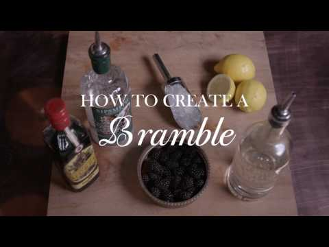 (HD) How to make the perfect bramble cocktail with sipsmith gin