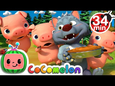 (New) This little piggy + more nursery rhymes e kids songs - cocomelon