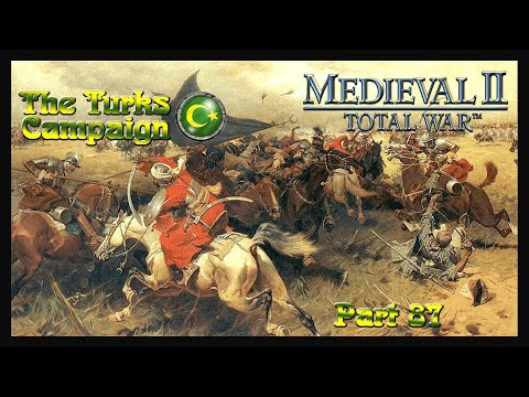 (New) Playing m2tw - the turks campaign part 87 - the polish cavalry army siege of halych