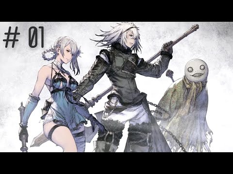 (New) Nier replicant (pc) - gameplay walkthrough part 1 (no commentary)