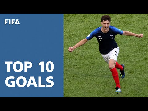 (New) Top 10 goals | 2018 fifa world cup russia