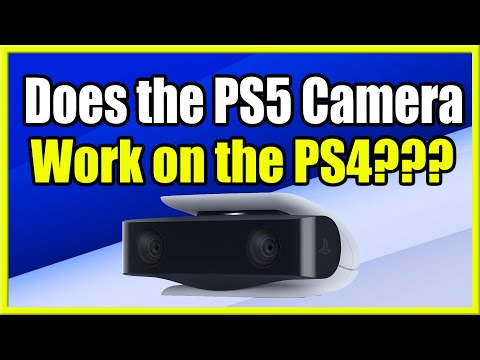 (New) Does the ps5 hd camera work on the ps4 (fast method!)