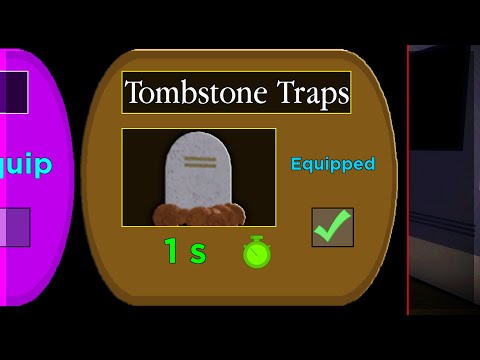 (HD) How to unlock tombstone traps! new secret piggy trap.. (piggy halloween event new update)