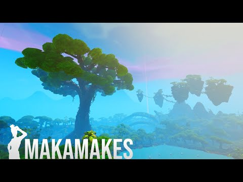 (VFHD Online) Creating the biggest tree from avatar in fortnite creative