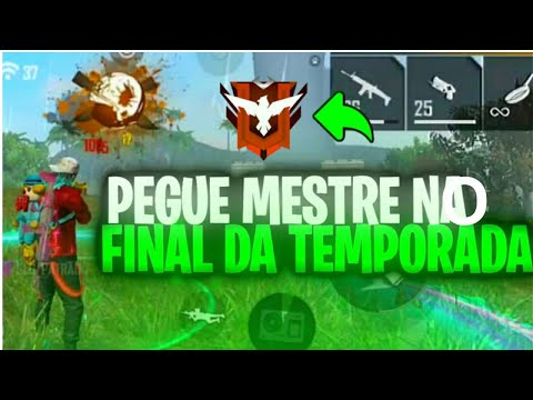 (New) Como pegar mestre no final da temporada no free fire??
