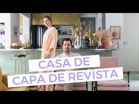 (New) Casa de capa de revista
