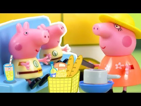 (Ver Filmes) Peppa pig official channel | peppa pig stop motion: peppa pigs surprise holiday
