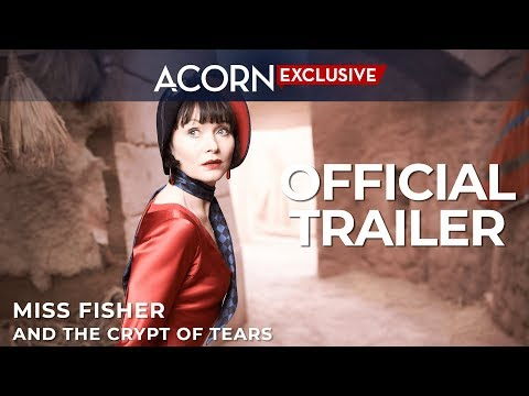 (New) Acorn tv exclusive | miss fisher and the crypt of tears | official trailer
