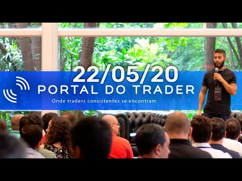 (HD) #fiqueemcasa - day trade ao vivo - 22 05 2020