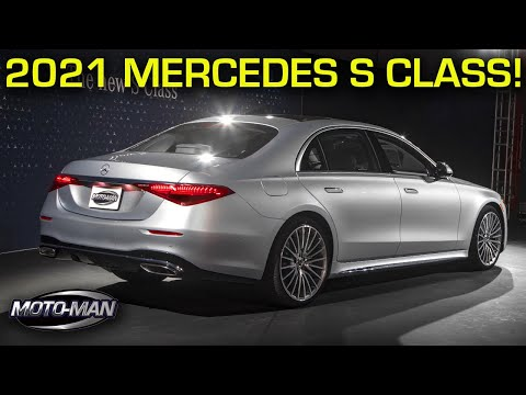 (New) The 2021 mercedes benz s class (w223) will lead car tech e design for the next 7 years!
