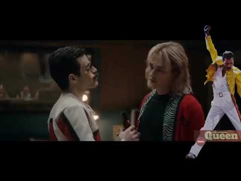 (New) Bohemian rhapsody movie- another one bites the dust scene
