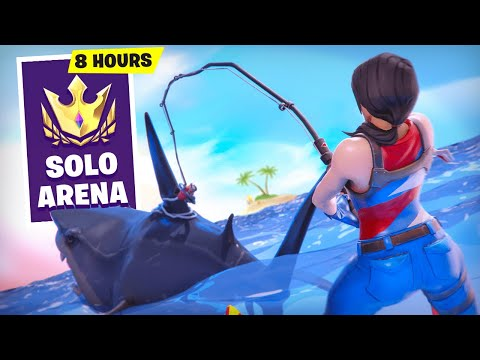 (Ver Filmes) Playing arena for 8 hours straight in season 3! (fortnite battle royale)
