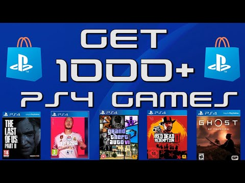 (New) How to get 1000+ ps4 games for free in 30 seconds!