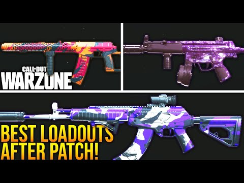 (New) Call of duty warzone: top 5 best loadouts after the mid season update! (warzone best setups)