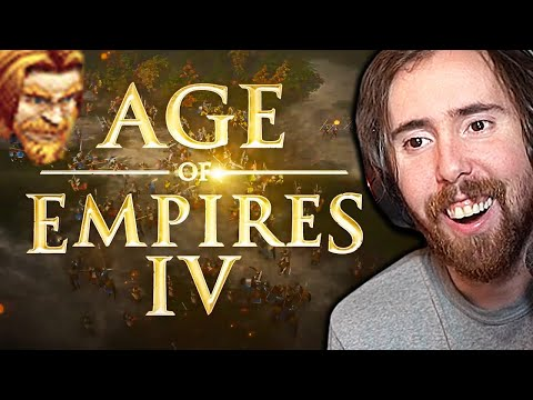 (New) Asmongold loves age of empires iv - new gameplay trailer | ft. mcconnell