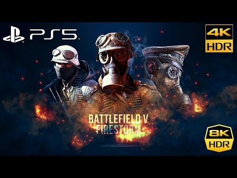 (New) Battlefield 5 [ps5 4k hdr 60fps] gameplay lg 8k nanocell 99 (battlefield v)