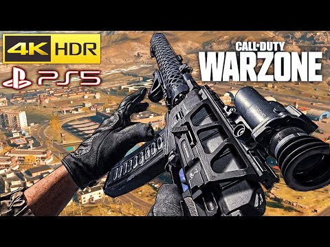 (New) Call of duty warzone solo (as val e mp5) gameplay 4k playstation 5 [no commentary]
